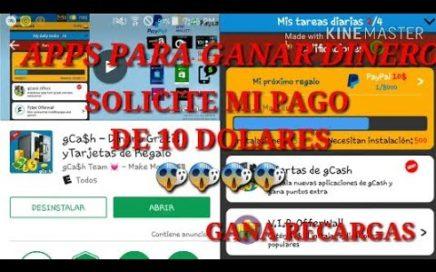 GANA DINERO CON ESTA APP| PEDI MI PAGO DE 10 DOLARES|