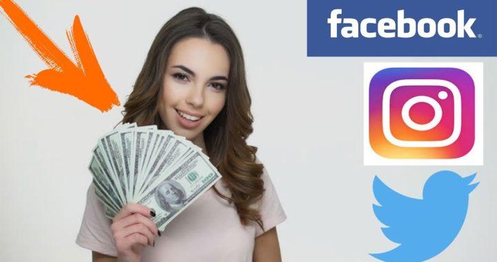 Gana dinero con facebook, instagram y twitter (TRIBE)