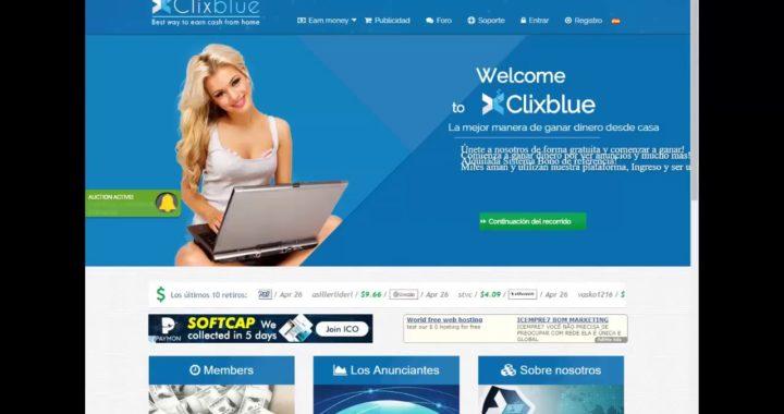 ¡¡Gana Dinero desde tu casa con ClixBlue!!