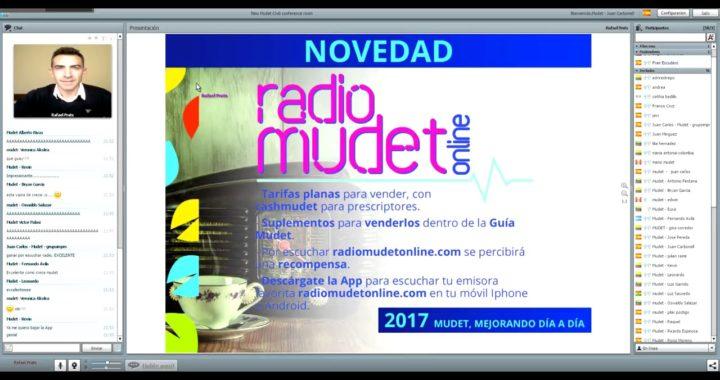 Gana dinero escuchando Radio Mudet Online