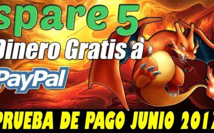 Gana Dinero Gratis a Paypal con Spare5 | Comprobante de Pago Junio 2017 | Gokustian