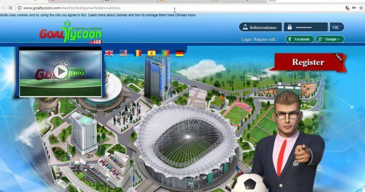 Gana dinero jugando Goaltycoon