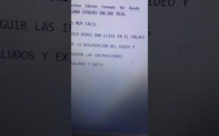 Gana Dinero Online Real $20 o $ 100 usd Diarios