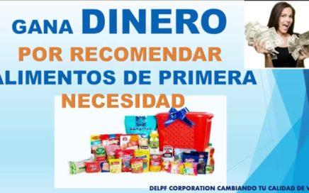 GANA DINERO POR COMER Y RECOMENDAR DELPF CORPORATION