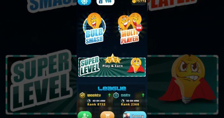 Gana dinero simplemente jugando un juego de romper bombillos