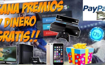 Gana Dinero y Premios Gratis 2015 | PayPal, iphone 6, TV, Minecraft Premium, ipad