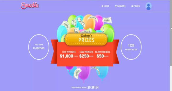 Gana mas de 1000 dolar con Snuckls  para tu Paypal