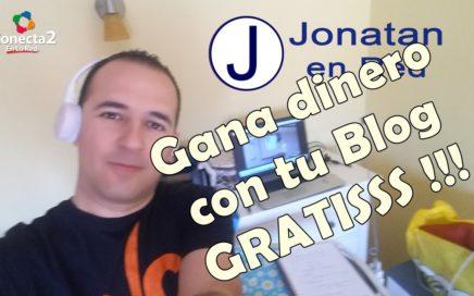 Ganar dinero con un blog - Jonatan en red - Formacion online para los negocios