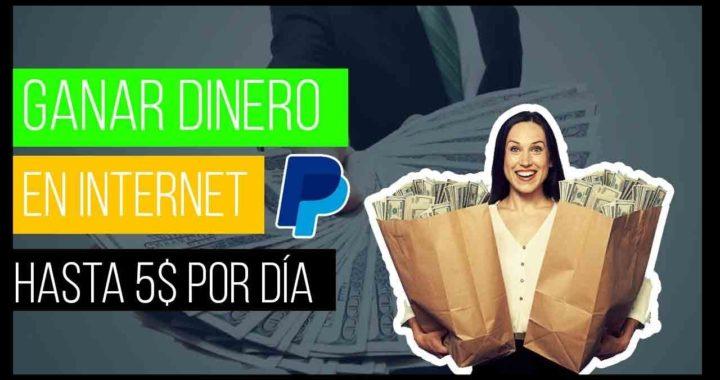 GANAR DINERO desde CASA en INTERNET [HASTA 5$ POR DÍA] PAYPAL + COMPROBANTES | Acortador de LINKS