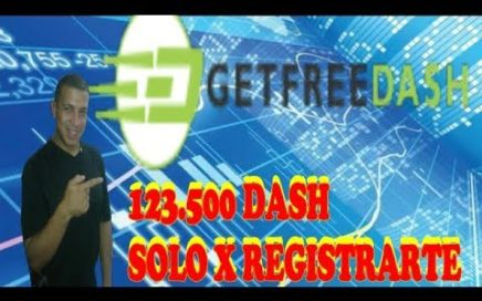 GETFREEDASH | GANA 5 $ DIARIOS PARA UPHOLD | PRUEBA DE PAGO