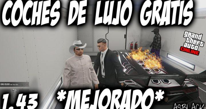 *GRATIS* - COCHES DE LUJO - REGALAR AUTOS a AMIGOS - GTA 5 - VEHICULOS DE EXPORTACIÓN - (PS4 - XB1)