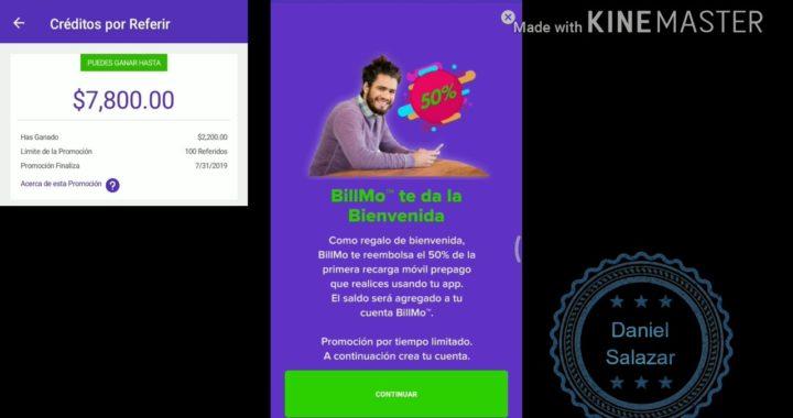 Guia Ganar 10 000 PESOS con Billmo ¿ Real o Estafa ?