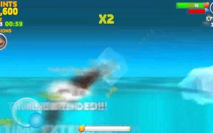HUNGRY SHARK truco ganar monedas muy rapido