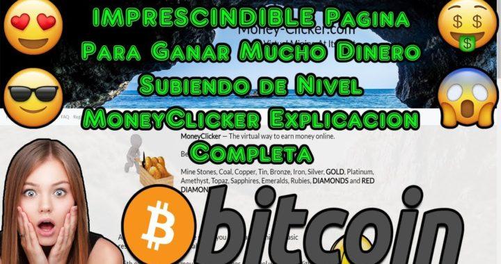 IMPRESCINDIBLE Pagina Para Ganar Mucho Dinero Subiendo de Nivel | MoneyClicker Explicacion Completa