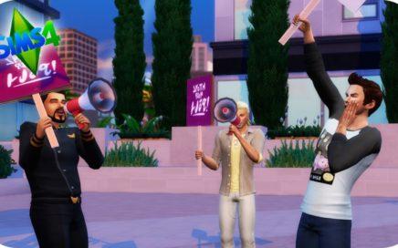 INTENTAMOS HACER DINERO CON IRON POLÍTICO!! PERO NO SALE MUY BIEN!!! - #LosFox 19 Sims 4