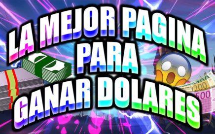LA MEJOR PAGINA PARA GANAR DOLARES | 3$ EN 1 DÍA MÍNIMO DE RETIRO 0.20 |  VIENDO VÍDEOS 2018