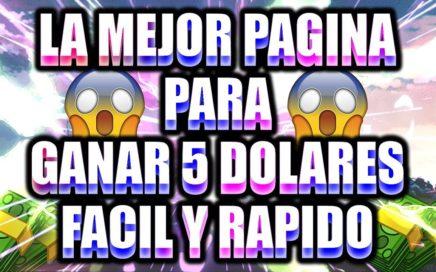 LA MEJOR PAGINA PARA GANAR  DOLARES EN TODO EL MUNDO VIA PAYPAL 2018
