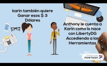 LibertyDG - Cómo Ganar Dinero con LibertyDG
