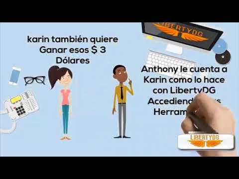 LibertyDG- Como Ganar Dinero Real por Internet con LibertyDG