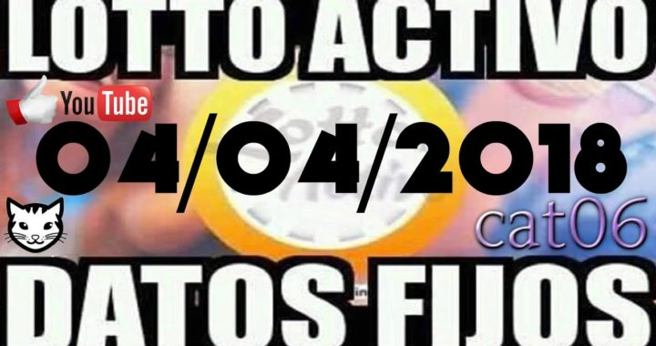 LOTTO ACTIVO DATOS FIJOS PARA GANAR  04/04/2018 cat06