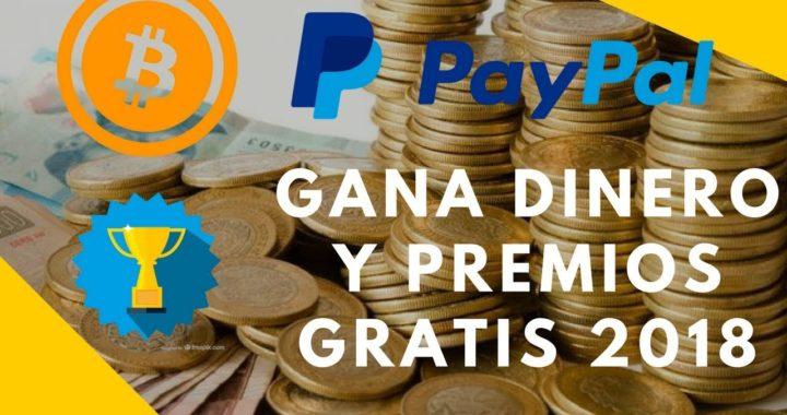 MEJOR PAGINA PARA GANAR DINERO Y PREMIOS 2018 | PAYPAL PS4 Y MÁS