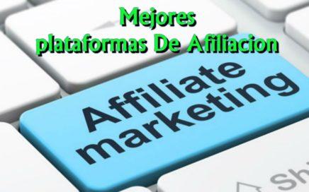 Mejores Plataformas De Afiliación|Gana Dinero Gratis !!