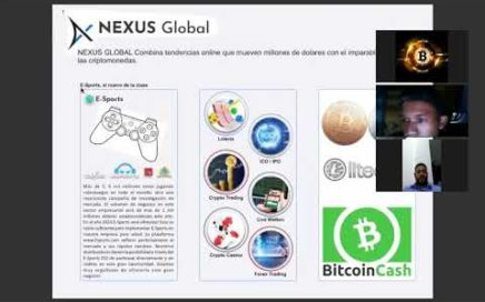 MINERIA DE CRIPTOMONEDAS Y MARKETING DE REFERIDOS NEXUS GLOBAL