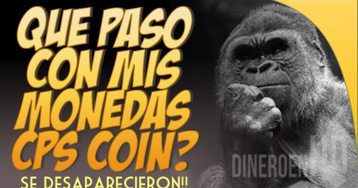 MIS MONEDAS CPS COIN SE DESAPARECIERON ¿QUE PASO?  | PREGUNTA ABIERTA!!