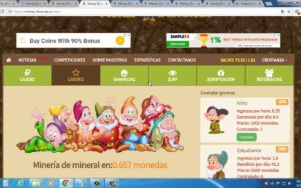 Money Dwarves Como Ganar Dinero Facil | Ganar Rublos- Principiantes