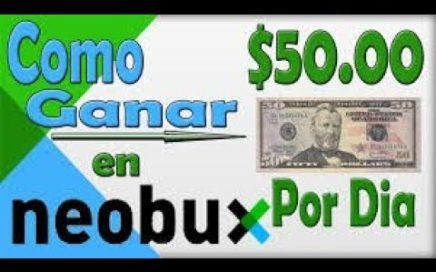 NEOBUX- Gana Dinero Por Internet Con  Encuestas OfertasAnunciosTareasTodo Gratis Pago por Paypal