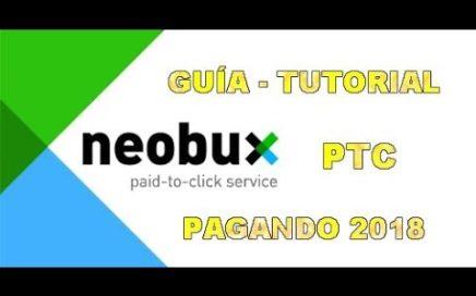 Neobux PTC Pagando 2018 - Gana Dinero con las PTC