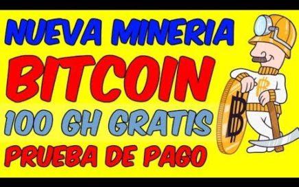 NUEVA WEB DE MINERIA DE BITCOIN EN LA NUBE Pagina para Minar Satoshis y Ganar Dinero Online