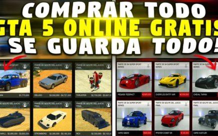 NUEVO - COMPRAR TODO GTA 5 GRATIS - SE GUARDA TODO *SUPER FACIL* GTA 5 ONLINE DINERO INFINITO FACIL!