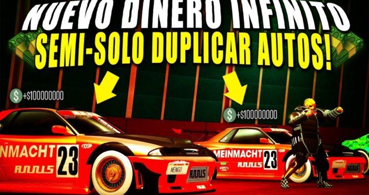 NUEVO! TRUCO DINERO INFINITO - DUPLICAR AUTOS - *SEMISOLO* - GTA 5 ONLINE 1.43 - BIEN EXPLICADO