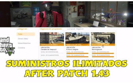 (PARC) NUE AFTER PATCH GTA5 TRUCO SUMINISTROS ILIMITADOS PERMANENTES PARA POBRES Y RICOS PS4 XBOX PC