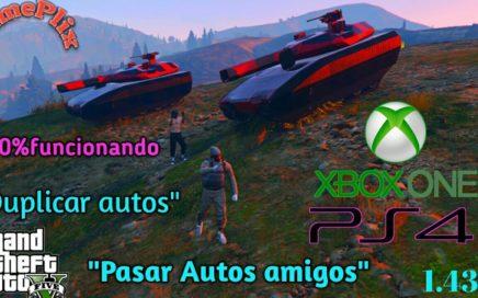 *Pasar Autos Amigos*JetPack Duplicar Autos Dinero Infinito 100% Funcionando Gta5 online xbox one ps4