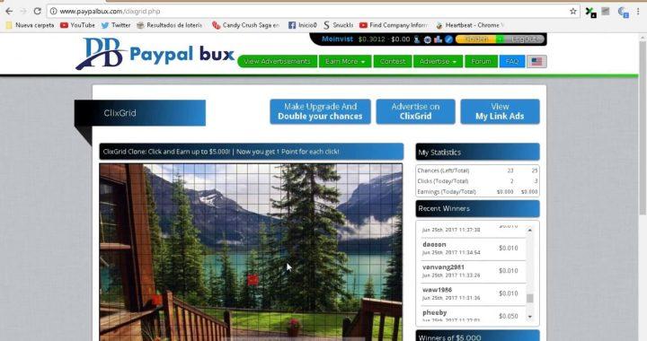 PAYPALBUX - como funciona, paga por PayPal y mas/ GANA ahora con esta PTC 2018