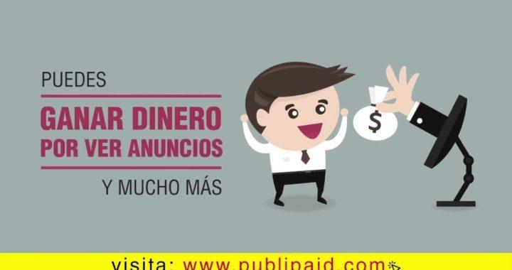 PubliPaid Gana Dinero Viendo Anuncios  l Gana Dinero Online