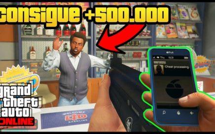 PUEDES CONSEGUIR +500.000$ ROBANDO UNA TIENDA! (GTA 5 ONLINE Truco Dinero Infinito) (ESTAFA)