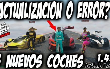 """ROCKSTAR """"POR ERROR"""" LANZA TODOS LOS NUEVOS COCHES en GTA Online A LA VEZ (GTA 5)"""