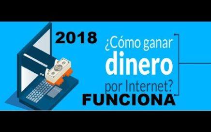 SI QUIERES GANAR  DINERO POR INTERNET  DEVES HACER ESTO FUNCIONANDO ABRIL  2018