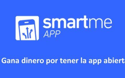 Smartme App: Ganas dinero por tener la aplicación abierta