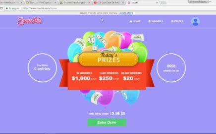 Snuckls Abril 2018   Gana dinero por Internet, fácil! Dolares a tu Paypal