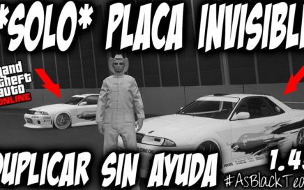 *SOLO* - SIN AYUDA - PLACAS INVISIBLES - GTA 5 - DUPLICAR con MATRICULAS LIMPIAS - (PS4 - XBOX One)
