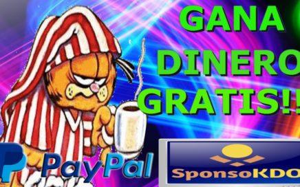 SPONSOKDO GANA DINERO GRATIS!! PARA| PAYPAL!!!2017|