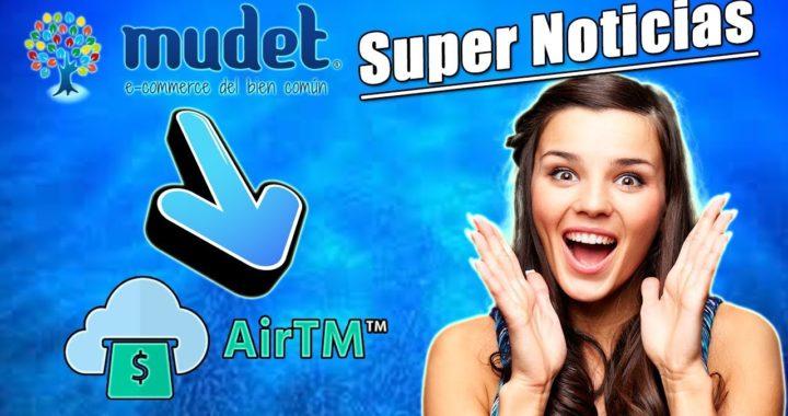 Super Noticia en Mudet para Venezuela y Todo el Mundo   AirTM en Mudet   Gokustian