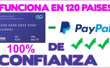 Tarjeta Para Verificar Paypal 2018-2019 (Funciona 100%) Prueba