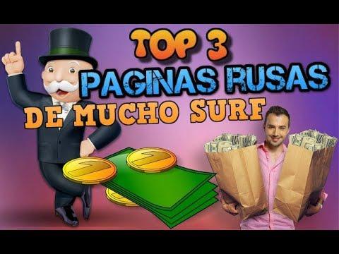 TOP 3  | PAGINAS RUSAS CON MUCHO SURF | RUBLOS GRATIS  |  LAS MEJORES PAGINAS RUSAS 2018