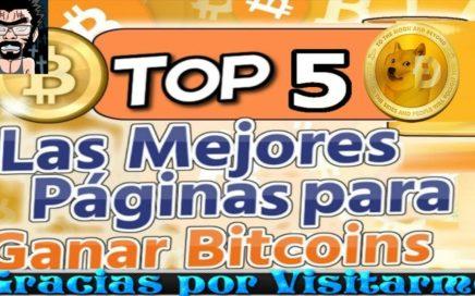 TOP 5 MEJORES FAUCETS PARA GANAR BITCOIN Y DOGECOIN GRATIS | NEGOCIOS ONLINE EN EL 2018