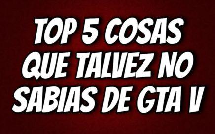 Top 5 Trucos, GLITCHES, Y COSAS QUE TALVEZ NO SABIAS QUE PODIAS HACER EN GTA 5 ONLINE!!